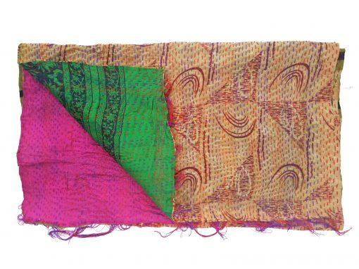 designer reversible kantha scarf
