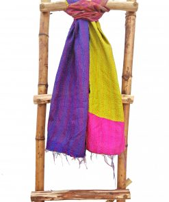 Indian Cotton Kantha Scarf
