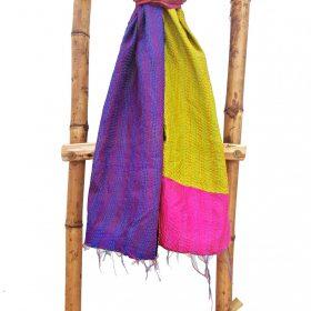 Indian Cotton Kantha Scarf