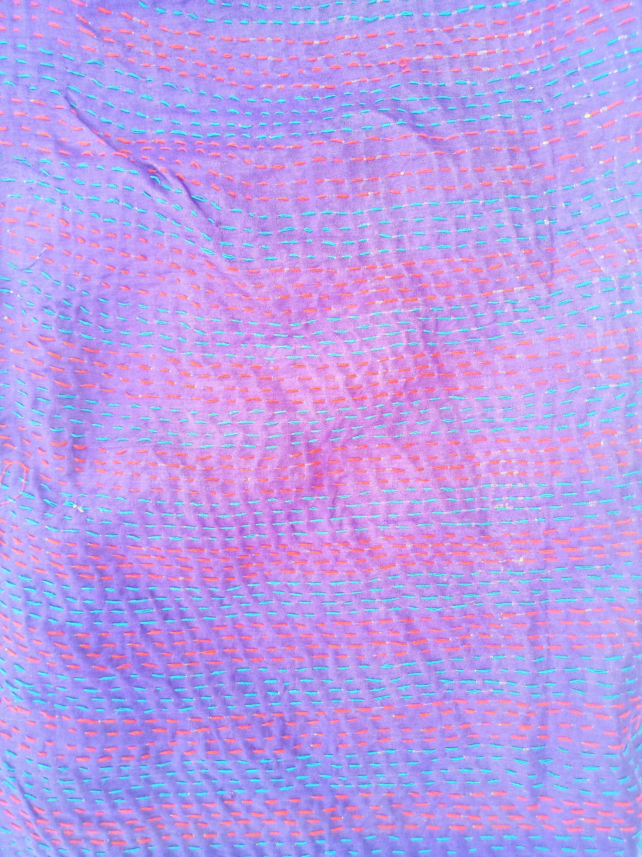 artisan made reversible scarf