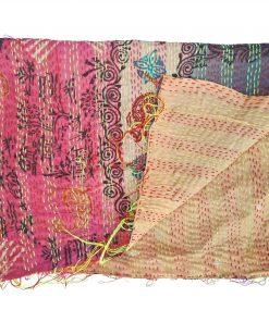 kantha quilting scarf