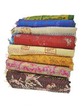 Handmade Kantha Scarf Lot