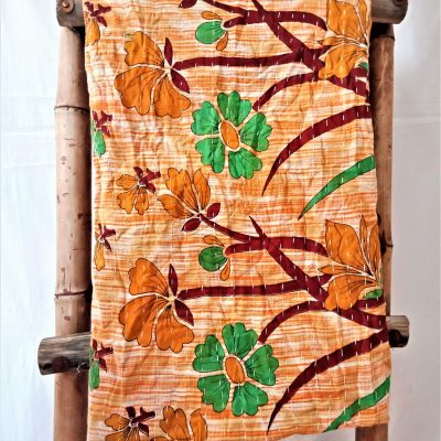 Kantha Quilt from India