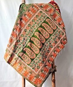 sun paisley kantha throw