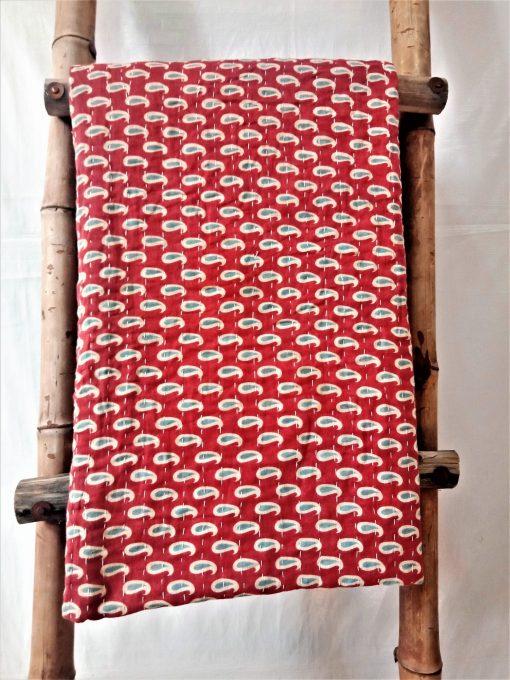 Indian Artisan Made Kantha Throw