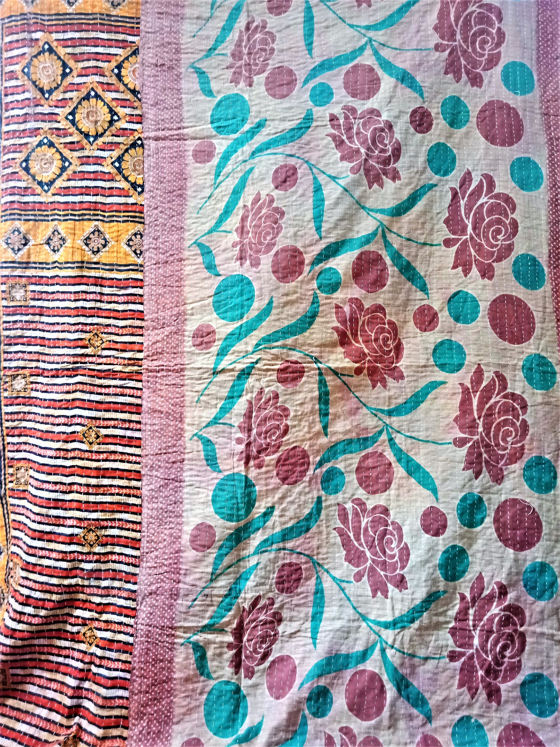 Cotton Vintage Kantha