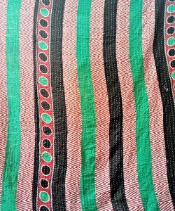 Cotton Kantha Throw