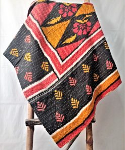 Handmade Kantha Throw