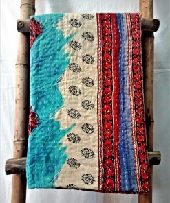 Unique Pattern Kantha artisan Throw