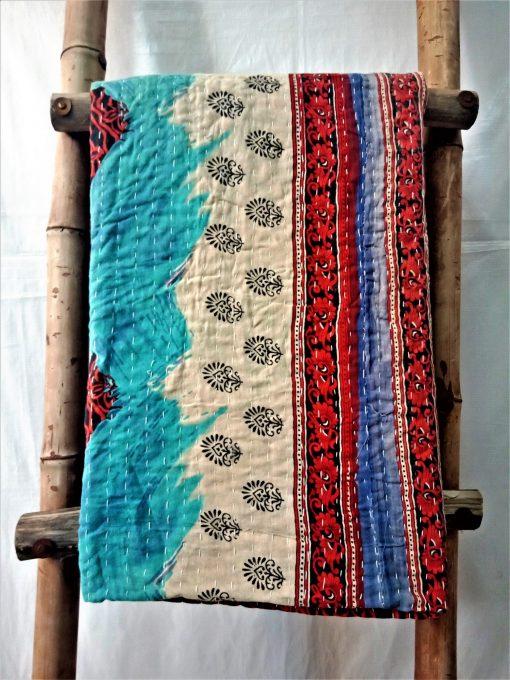 Unique Pattern Kantha artisan Throw