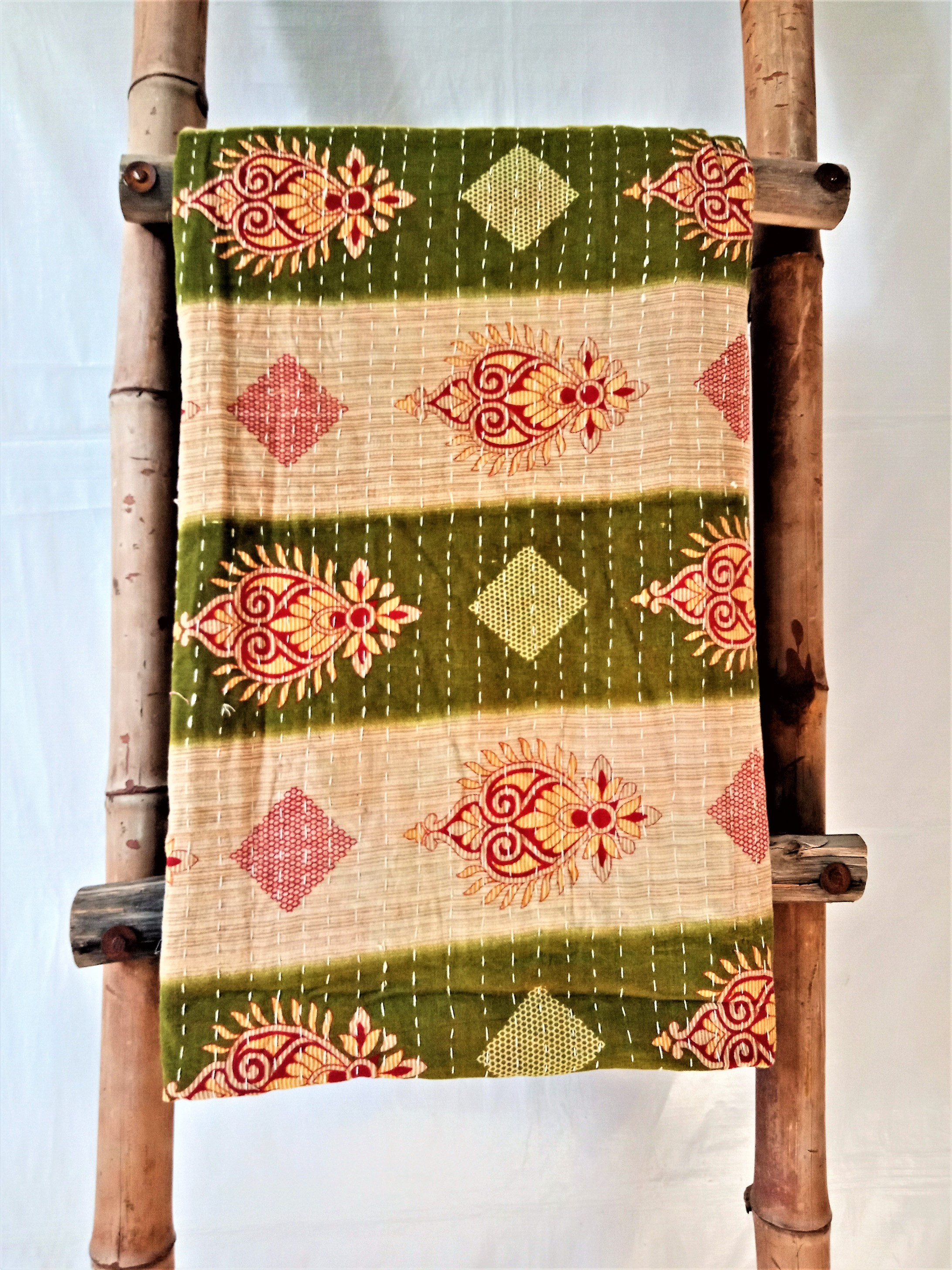 Exception High Quality Kantha Throw