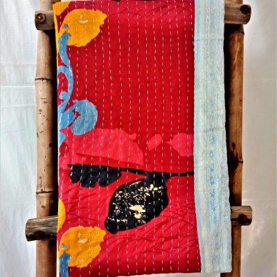 Jaipur Handmade Kantha Quilt