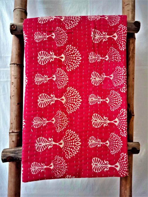 Artisan made Bengali Gudari Kantha Blanket