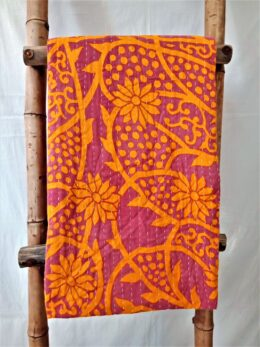 Exceptional Quality Vintage Kantha Quilt