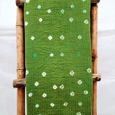 Polka Dot Queen Vintage Kantha Throw