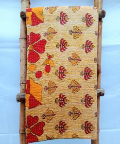 Queen Vintage Kantha Throw Blanket sale