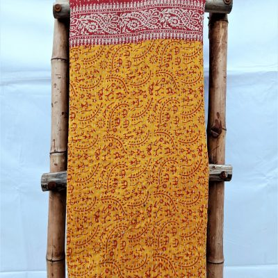 3 Layered Kantha Indian Throw
