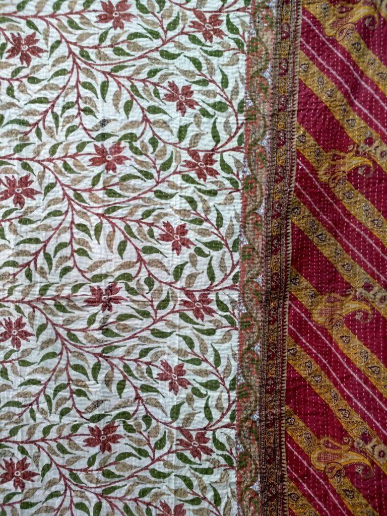 Floral Vintage Kantha
