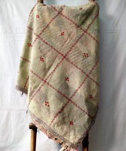 Queen Size Vintage Kantha throw
