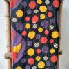 Multi-Color Polka Vintage Kantha Throw