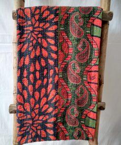 Paisley Queen Kantha Blanket