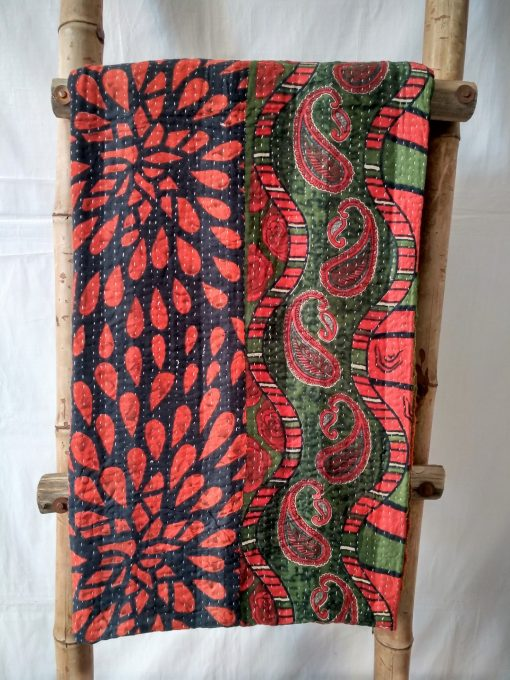 Paisley Queen Kantha Blanket