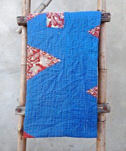 Vintage Kantha Twin Throw
