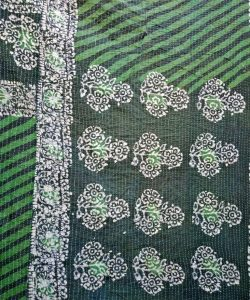 Wholesale Floral Kantha Twin Throw