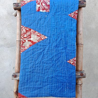 Vintage Kantha Twin Throw