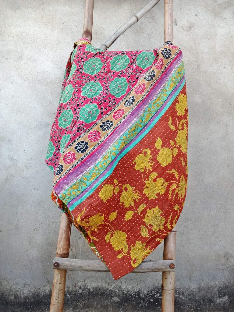 vintage Kantha Quilt Wholesale Twin