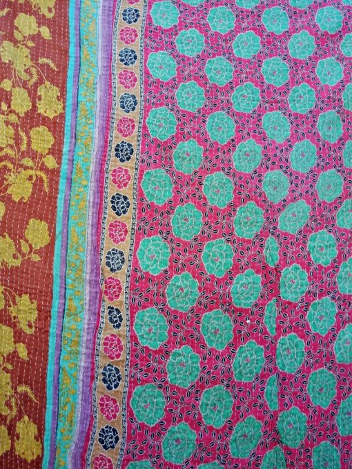Vintage Kantha Quilt Wholesale Artisan Made