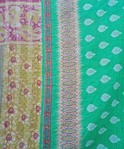 Circle Paisley Twin Wholesale Kantha Quilt