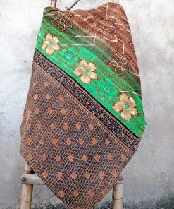 Artisan Made Twin Kantha Quilt