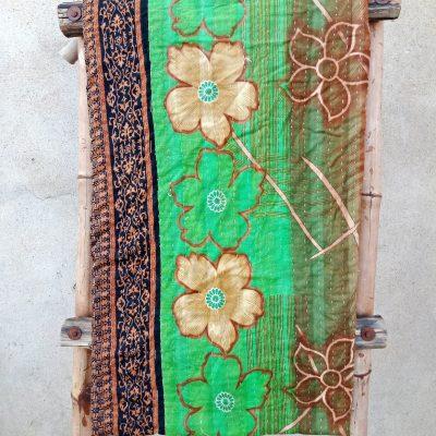 Bohemian Kantha Quilt Reversible