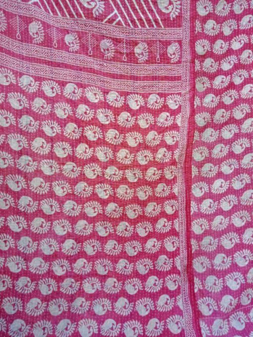 Peacock Twin Kantha Wholesale