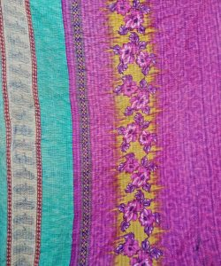Kantha Twin Throw