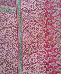 Designer Cotton Kantha Quilt Twin