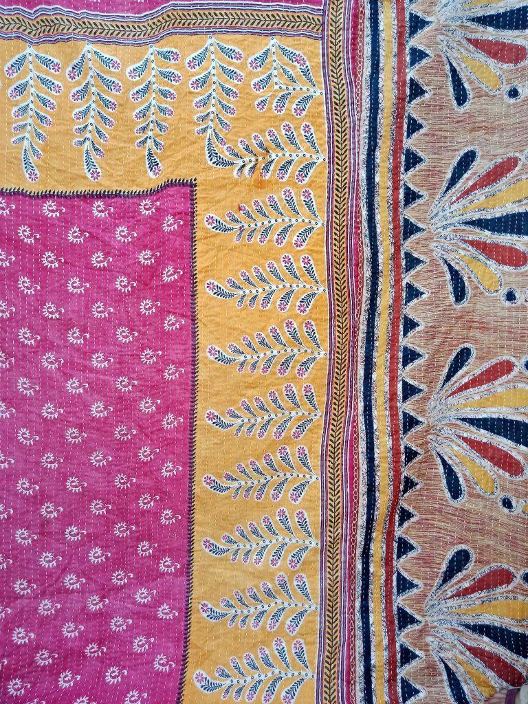 Boho Wholesale Indian Kantha Quilt