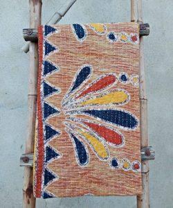 Bohemian Indian Kantha Quilt