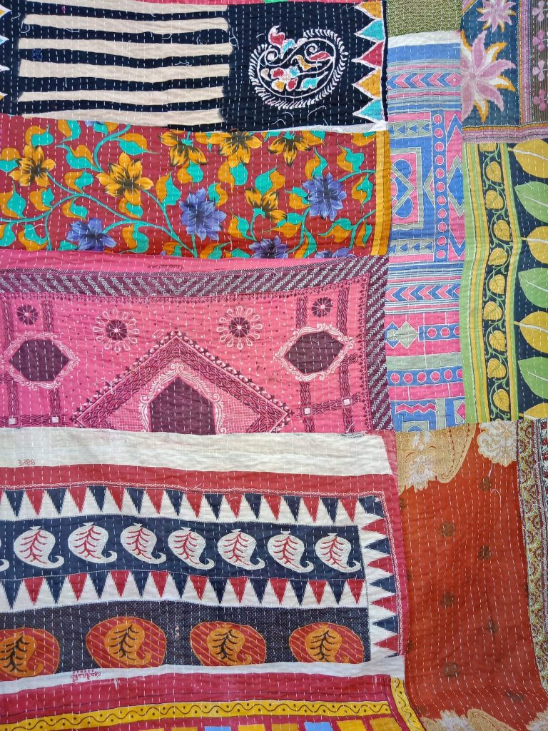 Kantha Quilt Twin Online Paisley