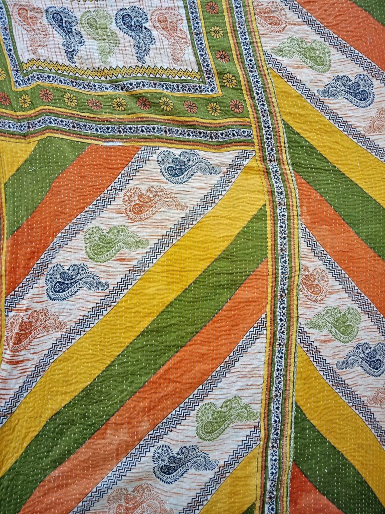 Designer Twin Kantha Quilt Wholesale