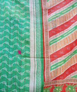 Kantha fine stitched Quilt