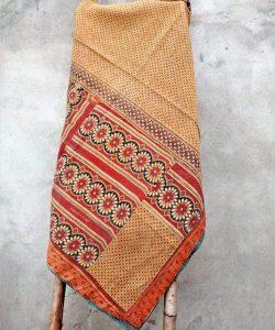 Bengal Kantha Quilt Heavy Queen Size
