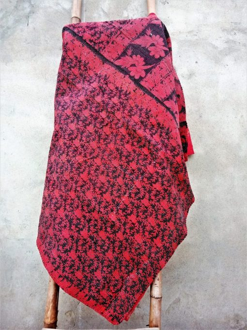 Love Color Reversible Queen Kantha