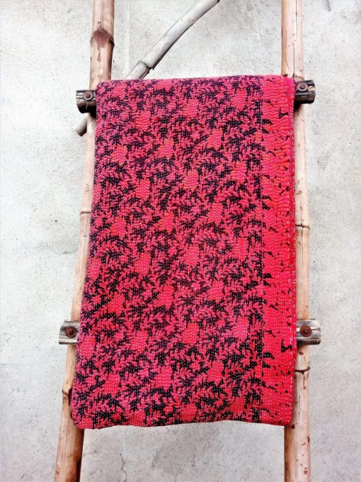 Handmade Reversible Exclusive Fine 6 Layered Vintage Kantha