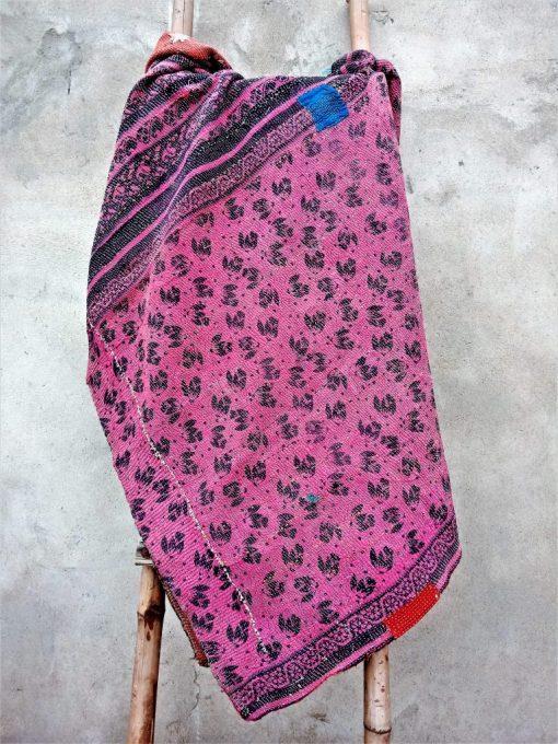 Artisan Made Floral Queen Kantha