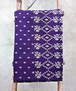 6 Layered Close Stitched Heavy Reversible Kantha Quilt