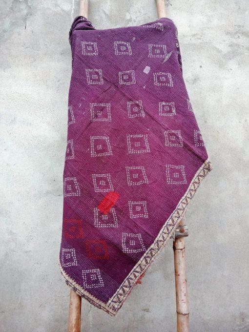 Vintage Kantha Quilt 6 Layered