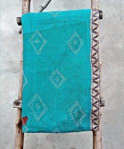 Vintage Kantha Quilt 6 Layered Exclusive Handmade Throw