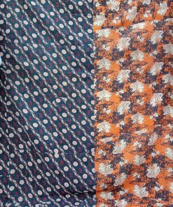 Paisley Queen Kantha Homemade Quilt